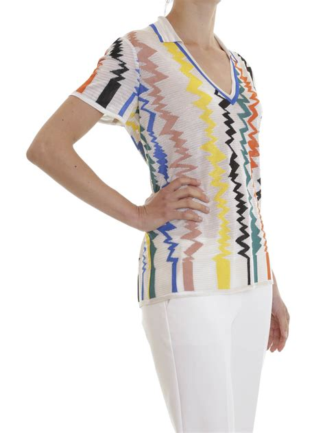 zig zag shirt pattern zig zag pattern polo shirt by missoni polo shirts ikrix