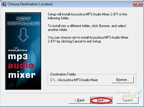 download mp3 cutter and mixer software acoustica mp3 audio mixer اكوستيكا mp3 اوديو ميكسر تنزيل
