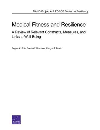 measuring tomorrow accounting for well being resilience and sustainability in the twenty century books fitness and resilience a review of