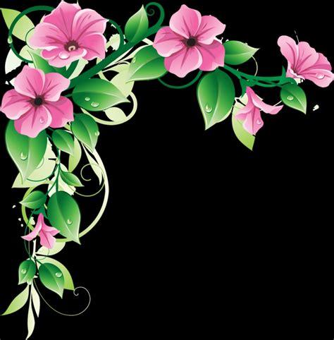 flower design images clipart best flower border design clip art clipart best png photo