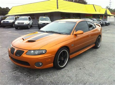 manual cars for sale 2006 pontiac gto seat position control 2006 pontiac gto for sale in jacksonville fl