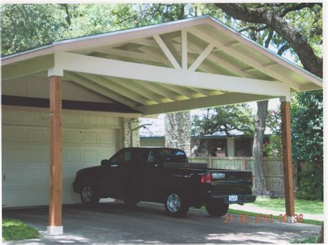 carports attached to house wood carports attached to house
