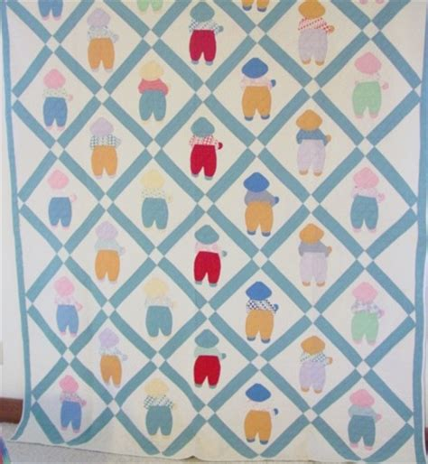 Overall Bill Quilt Pattern by Overall Bill Quilt Sold Rennels Antique Quilts