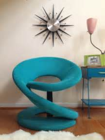 funky accent chairs funky retro chair modern accent by paracosmvintage on etsy