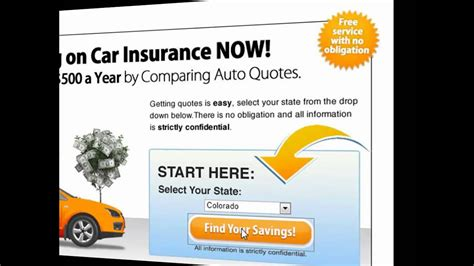 auto insurance quotes  step  step video
