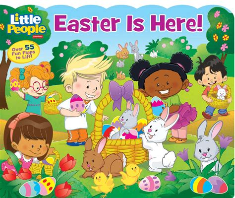 fisher price easter is here book by lori