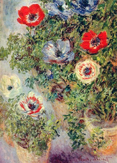 biography of artist claude monet stilll life with anemones 1885 claude monet wikiart org