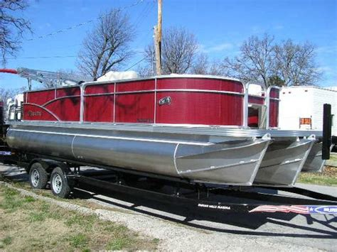 tritoon boats for sale in oklahoma manitou 22 boats for sale in oklahoma