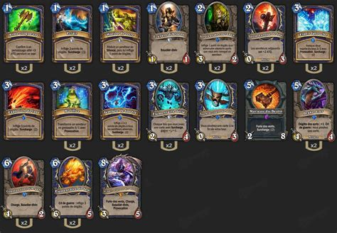 ranked shaman deck deck chaman ranked hearthstone heroes of warcraft