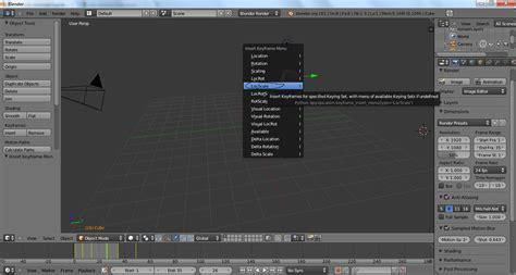 tutorial keyboard untuk pemula tutorial membuat animasi sederhana pada blender untuk pemula