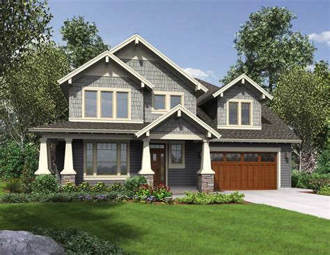 craftsman home plan awesome design of craftsman style house homesfeed