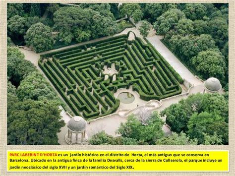 el laberint dels esperits 846642170x barcelona monumental 7 parc del laberint d horta
