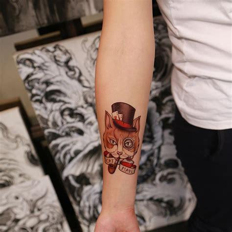 tattoo cat on wrist 32 awesome cat wrist tattoos designs