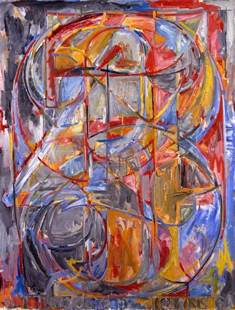 jasper johns jasper johns painting numbers