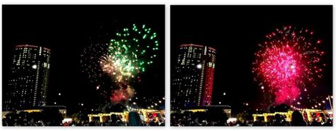 new year fireworks at crown new year 農曆新年 2016