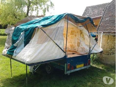 carrello tenda rapido caravane toile pliante raclet clasf