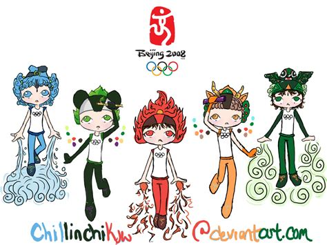 Beijing Olympic Mascot Wlpaper By Chillinchikjw On Deviantart