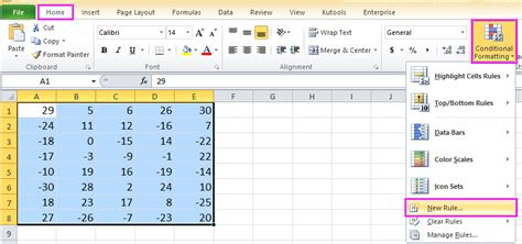 excel format based on value how to change font color based on cell value in excel