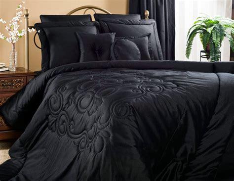 Black Bed Spread medallion black atlantic linens