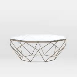 geometric coffee table west elm