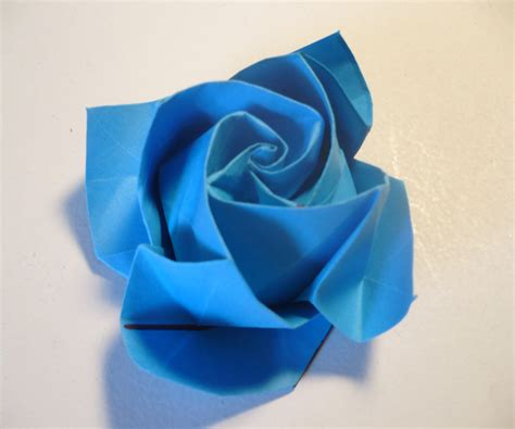 Folded Paper Roses - origami in bloom 10
