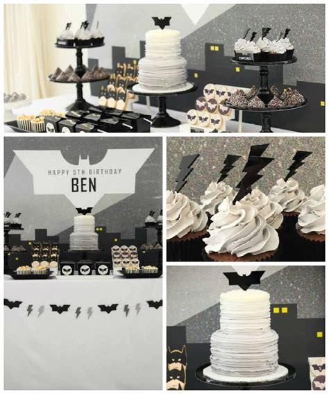 party themes modern kara s party ideas modern batman birthday party