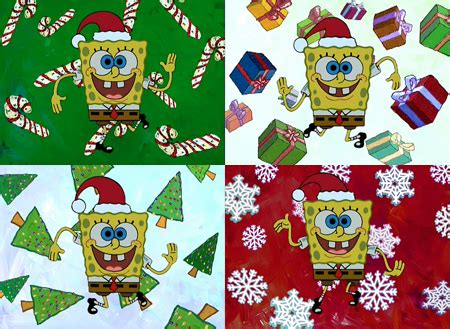 christmas spongebob quotes quotesgram