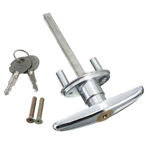 T Handle Garage Door Lock by Garage Door Lock T Handle With Key Metal Copper M4n9