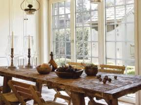 Rustic Country Kitchen Table Country Furniture For Stunning Dining Room Decorating With Rustic Vibe