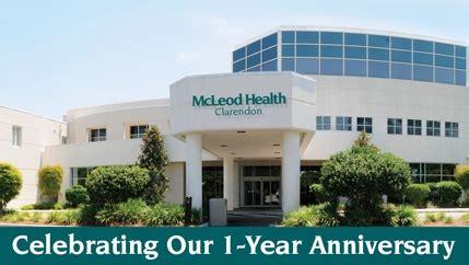 mcleod emergency room florence sc mcleod health clarendon location overview mcleod health
