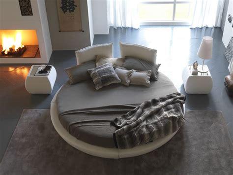 materasso tondo letto rotondo moderno e originale letti