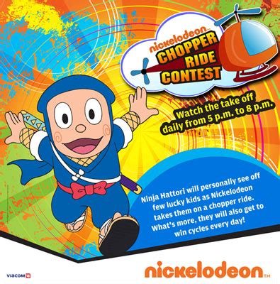 Nickelodeon Giveaway - nickelodeon announces chopper ride contest animationxpressanimationxpress