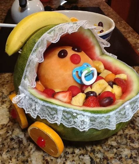 Baby Shower Watermelon by Baby Shower Watermelon Carriage