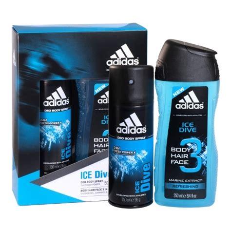 Parfum Adidas Dive coffret cadeau dive gel d 233 odorant adidas
