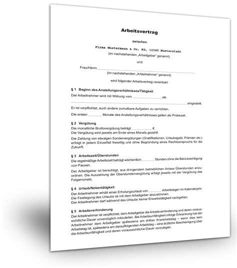 Lebenslauf Muster Leitender Angestellter Unbefristeter Arbeitsvertrag Muster Kndigung