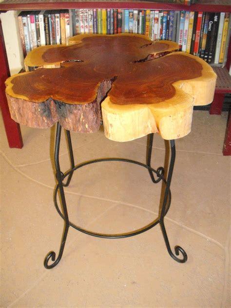 cedar log bench or coffee table by jamesrobinson on etsy cedar log slice end table or plant stand logs plants and etsy