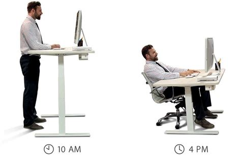 274 Best Images About Balance The Body Relieve The Pain Ideal Standing Desk Height