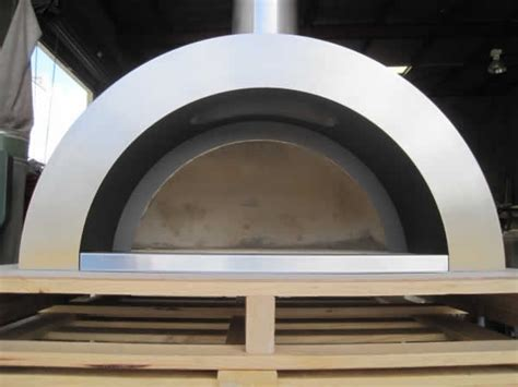 chiminea pizza oven attachment zesti wood fired pizza oven diy kit
