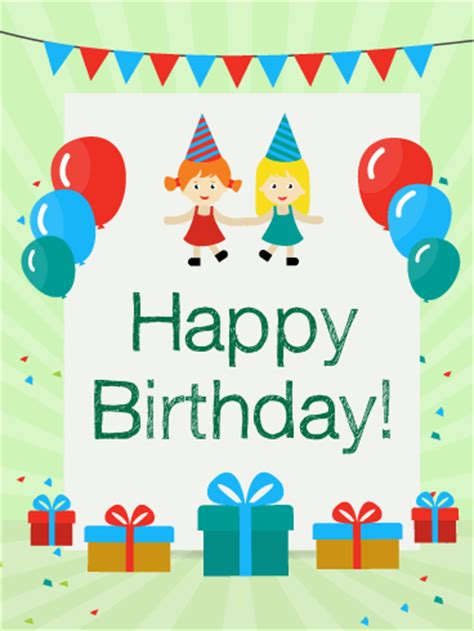 birthday with friends card for birthday greeting cards by davia