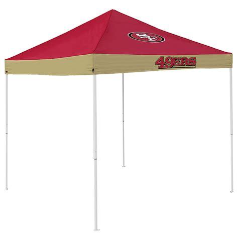 Canopy Sf San Francisco 49ers 9 X 9 Economy 2 Logo Pop Up Canopy