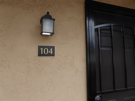 Appartment Number by Building Numbers For Apartment Complex Coast Signs