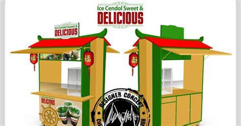 desain gerobak portable desain logo logo kuliner desain gerobak jasa desain