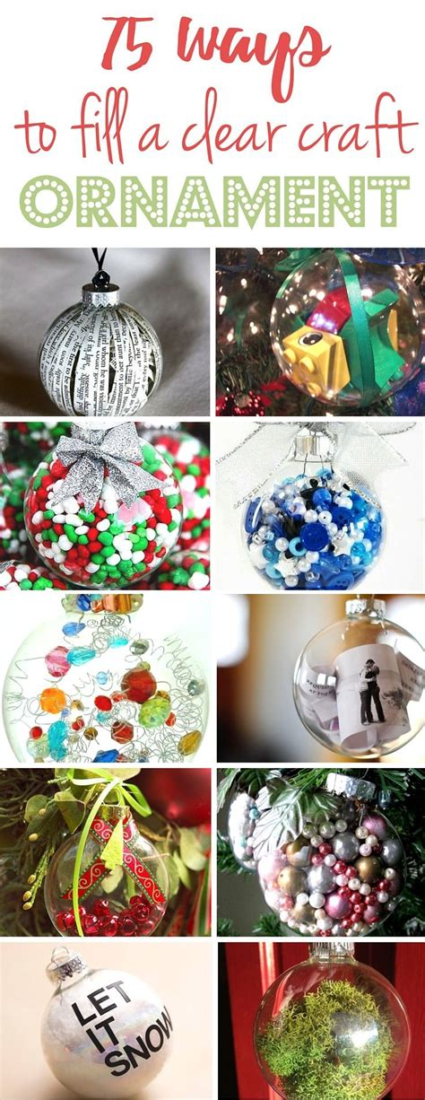 home made decor 17 best ideas about clear ornaments on