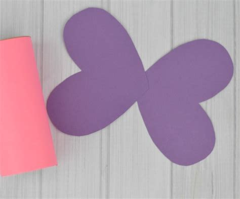 How To Make Paper Butterfly Wings - toilet paper roll butterfly craft the resourceful