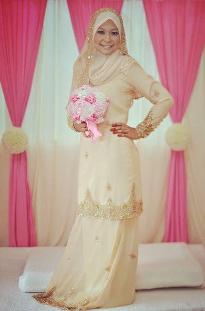 Baju Kurung Moden Untuk Akad Nikah wawa syaida baju kurung moden veil majlis pertunangan saya