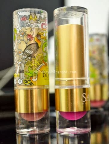 Lipstik Sariayu Lasem lunatic vixen review sariayu borneo lipstick b01 b04