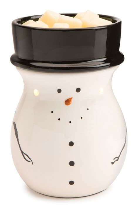electric candle warmer l snowman electric candle warmer wax tart warmer home