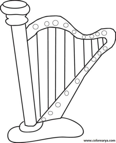 imagenes de instrumentos musicales para dibujar dibujos instrumentos musicales para colorear con nombres