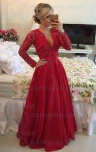 2016 lace long red tailor made evening prom dresses lfndb0017 cheap online marieprom uk