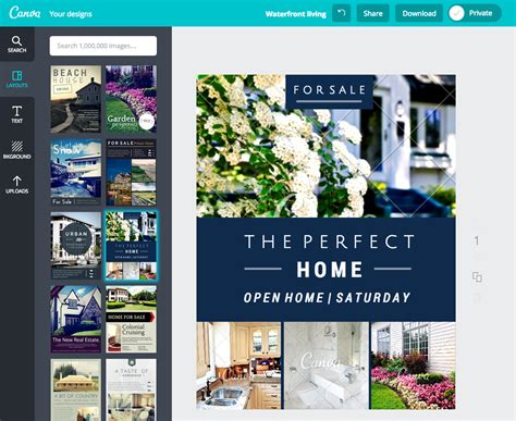 design flyer canva how to create stunning real estate flyers with canva